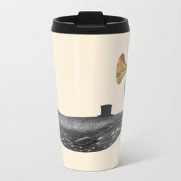 Whale Song Metal Travel Mug