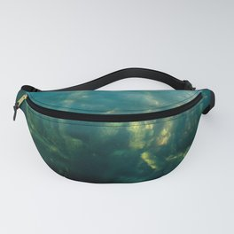 Fresh water seeweed, algae in lake Iseo, Italy Fanny Pack
