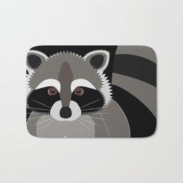 Raccoon in the Night Bath Mat