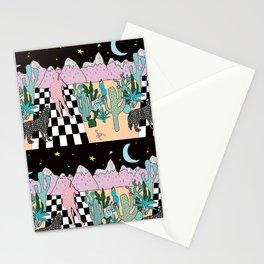 Postmodern Desert Dream Stationery Cards