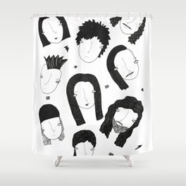 We are the metalheads Shower Curtain