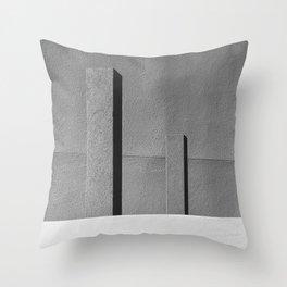 Concrete Posts 2 Throw Pillow