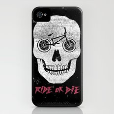 Ride Or Die iPhone (4, 4s) Slim Case