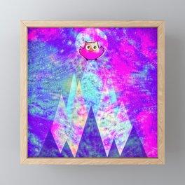 Owl 355 Framed Mini Art Print