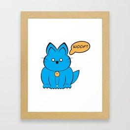 Cat Dog ? Framed Art Print