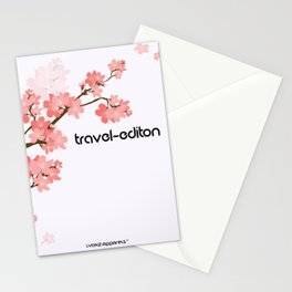 Beautiful travel Stationery Cards