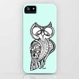 One Hoot Owl iPhone Case