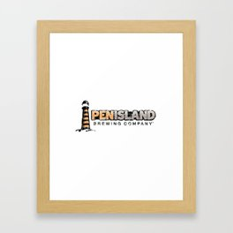 Pen Island Brewing Company Framed Art Print