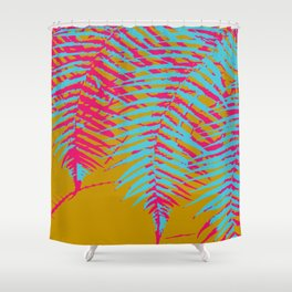colorful tropics Shower Curtain