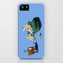 Sheep (Colour) iPhone Case