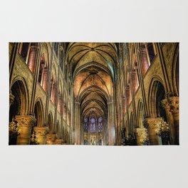 Notre Dame de Paris interior Rug