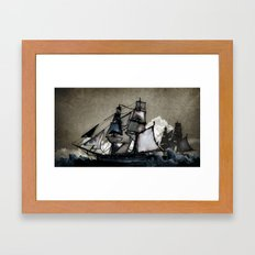 The Tightrope Framed Art Print