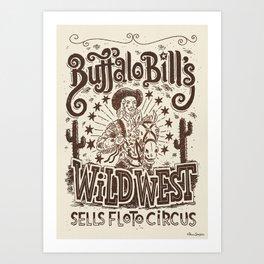 Buffalo Bill #17 Art Print