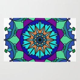 Mandala Eastern pattern Rug