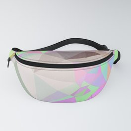Abstract Holographic Iridescent Art 7 Fanny Pack