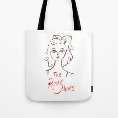 The Red Shoes Tote Bag