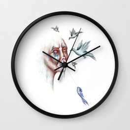 Whisperer Wall Clock