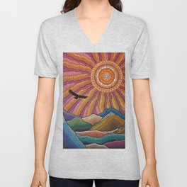 Flight of the Condor Unisex V-Neck