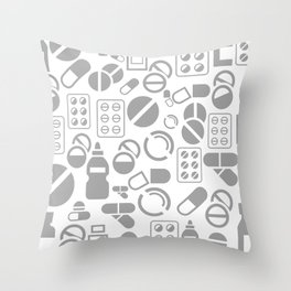 Tablet a background Throw Pillow
