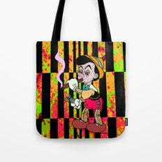 I DON'T THINK IM REAL. Tote Bag