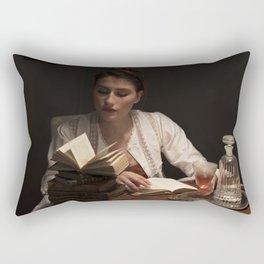 Antique lady Rectangular Pillow