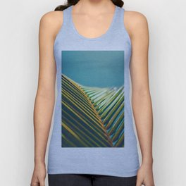 Palm Leaves in the Sun Unisex Tank Top