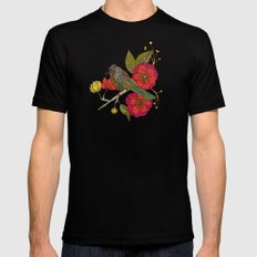 Contented Constance MEDIUM Mens Fitted Tee Black