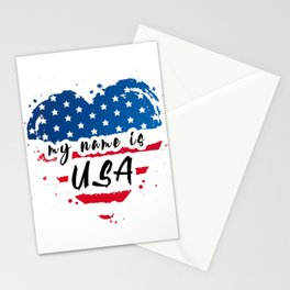 The Heart of America  Stationery Cards
