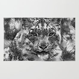 AnimalArtBW_Leopard_20170601_by_JAMColorsSpecial Rug