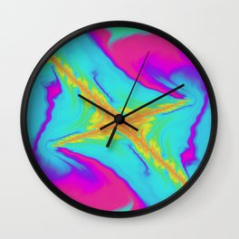 Sleepless Salute Wall Clock