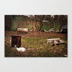 Abandoned Bowling Alley Canvas Print