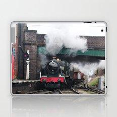 Vintage Steam Railway Train at the Station Laptop & iPad Skin