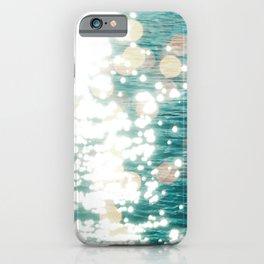 Sun glitter - golden light iPhone Case