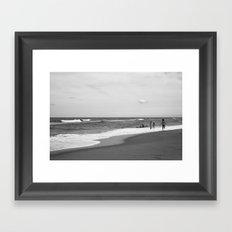 the Shore Framed Art Print