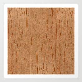 Cedar Spanish Wood Art Print