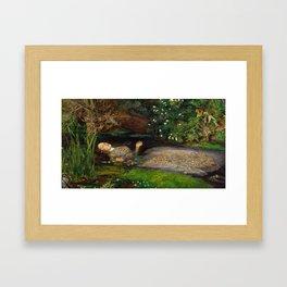 Ophelia, John Everett Millais Framed Art Print
