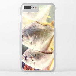 Fish Family Clear iPhone Case
