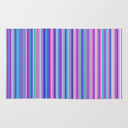Simple colorful stripes Rug