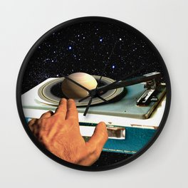 The DJ's Guide to the Galaxy Wall Clock