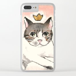 #KING Clear iPhone Case