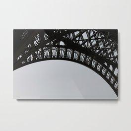Arc de Tour Eiffel Metal Print