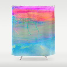 Drifting on Salt Shower Curtain