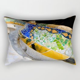 Gaudi Series - Parc Güell No. 1 Rectangular Pillow