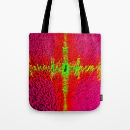 Abstract 3d block Tote Bag