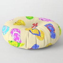 Flip Flops Pattern Floor Pillow