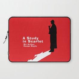 A Study in Scarlet - Sherlock Holmes Laptop Sleeve