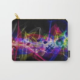 Colorful musical notes and scales artwork Carry-All Pouch