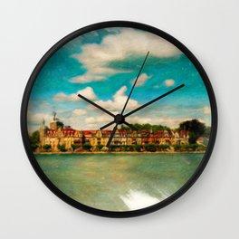 Konstanz Cityscape 2 Wall Clock