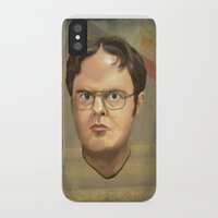 dwight iPhone & iPod Cases featuring Dwight by GoodGame