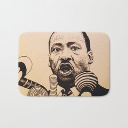 Fight for your rights Bath Mat